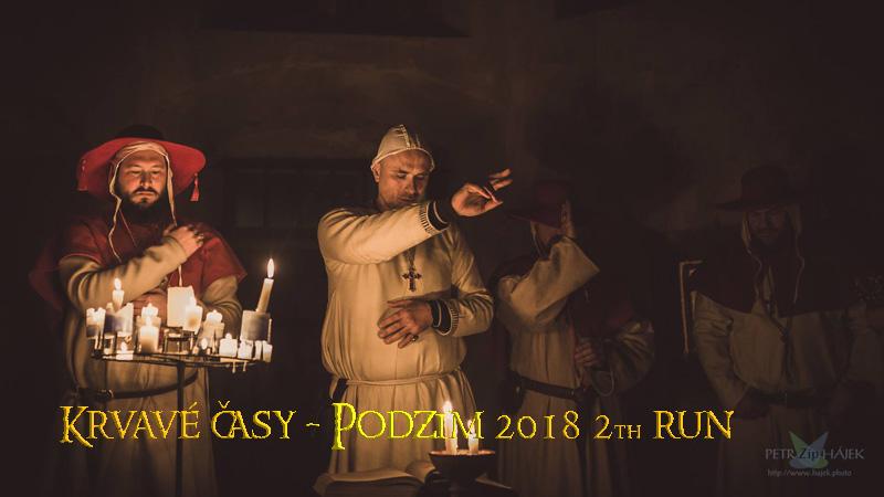 Krvavé časy - druhý běh, podzim 2018 - ZIP rusty pixels